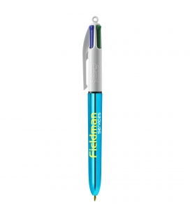 Stylo BIC® 4 Couleurs Shine