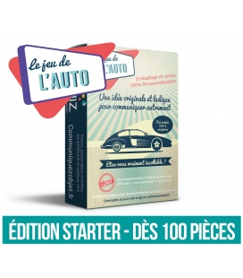 Jeu de l'auto version Starter