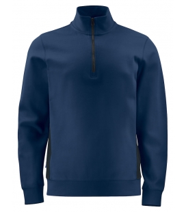 Sweatshirt double face 1/2 zip - PROJOB