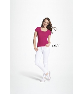 Tee-shirt femme col rond SOL'S - 160g/m² - MOODY