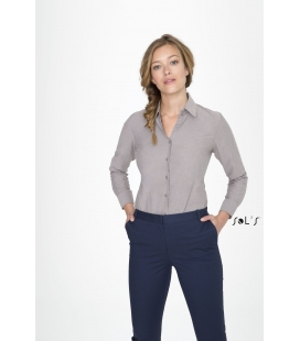 Chemise femme oxford manches longues SOL'S - EMBASSY