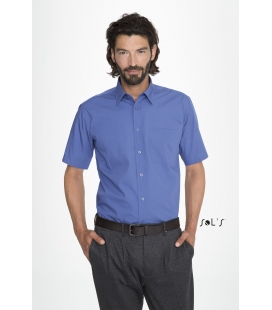 Chemise homme popeline manches courtes SOL'S - BERKELEY