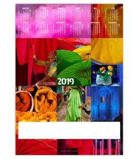 Poster COULEURS VOYAGE 2019