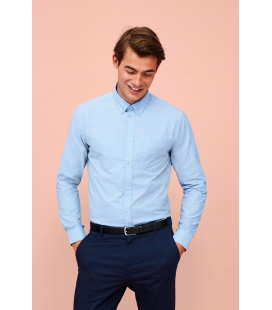 Chemise homme oxford manches longues SOL'S BOSTON FIT