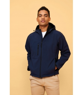 Softshell homme à capuche SOL'S REPLAY MEN