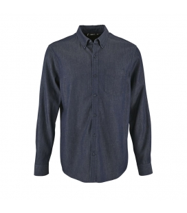 Chemise homme en denim SOL'S BARRY MEN