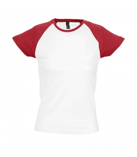 Tee-shirt femme bicolore manches raglan SOL'S MILKY