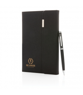 Set carnet de notes A5 et stylo Swiss Peak