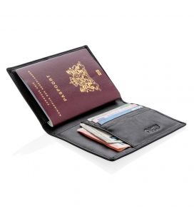 Etui passeport anti RFID Swiss Peak